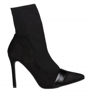 ANKLE BOOTS, ΚΩΔ.: GO-6A-NERO